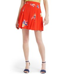 ModCloth - Stay Sassy Swingy A-line Skirt - Lyst