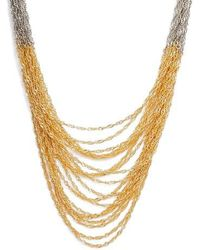Nakamol - Colorblock Chain Necklace - Lyst