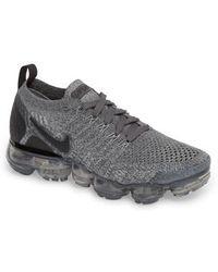 Lyst - Nike Air Vapormax Flyknit Running Shoe in White 7e5583b4e