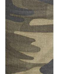 Mavi Jeans - Juliette Camo Print Military Cargo Pants - Lyst
