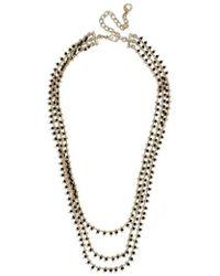 BaubleBar - Kirrali Beaded Chain Necklace - Lyst
