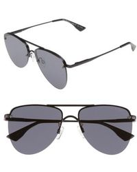 Le Specs - The Prince 57mm Aviator Sunglasses - Lyst