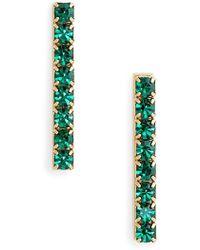 Loren Hope | Paige Bar Stud Earrings | Lyst