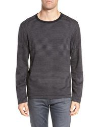 French Connection - Alternative Stripe Long Sleeve T-shirt - Lyst