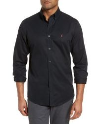 Nordstrom - Smartcare(tm) Traditional Fit Twill Boat Shirt - Lyst