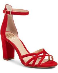 Vince Camuto - Catelia Ankle Strap Sandal - Lyst