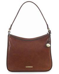 Brahmin - Noelle Smooth Leather Hobo Bag - Lyst