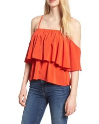 BISHOP AND YOUNG - Bishop + Young Lilly Tiered Top - Lyst