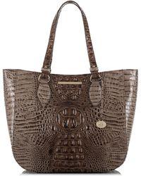 Brahmin - Melbourne - Medium Lena Leather Tote - Lyst