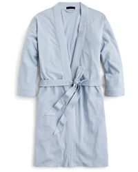 J.Crew | J.crew Cotton Robe | Lyst