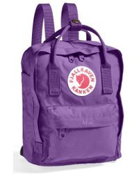 Fjallraven - 'mini Kanken' Water Resistant Backpack - - Lyst