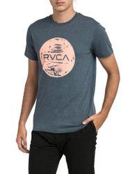 RVCA - Motors Inc Logo Graphic T-shirt - Lyst