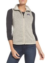 Patagonia - Better Sweater Vest - Lyst
