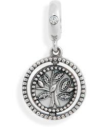 PANDORA - Spinning Tree Of Life Charm - Lyst