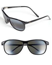 Maui Jim   'voyager - Polarizedplus2' 60mm Sunglasses - Gloss Black   Lyst