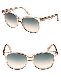 Céline - 57mm Square Sunglasses - - Lyst
