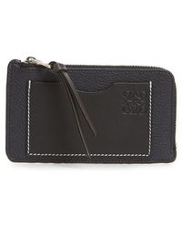 Loewe - Leather Card & Coin Case - - Lyst