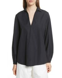 Vince - Swing Front Pullover Shirt - Lyst