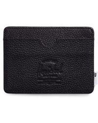 Herschel Supply Co. - Tile Slim Charlie Leather Card Case - Lyst