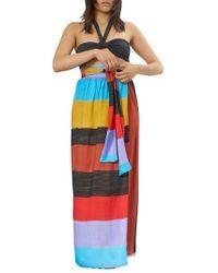 Mara Hoffman | Cora Stripe Cover-up Skirt | Lyst