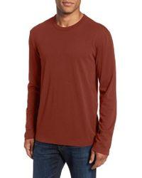 James Perse - Long Sleeve Crewneck T-shirt - Lyst