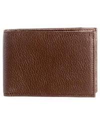 Boconi - Garth Leather Bifold Wallet - Lyst