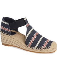 ae2d09f123f Tory Burch - Catalina 3 Espadrille Wedge Sandal - Lyst