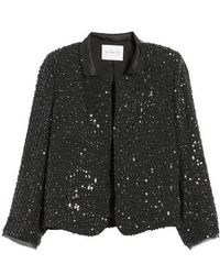 Velvet By Graham & Spencer - Sequin Jacket - Lyst