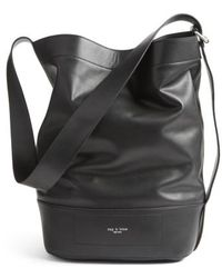 Rag & Bone | Walker Sling Leather Bucket Bag | Lyst
