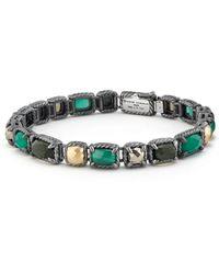David Yurman - Chatelaine Mosaic Tennis Bracelet With 18k Gold - Lyst