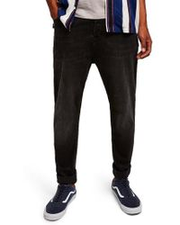 TOPMAN - Topshop Jogger Skinny Jeans - Lyst