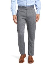 Ted Baker - Clifrot Trim Fit Trousers - Lyst