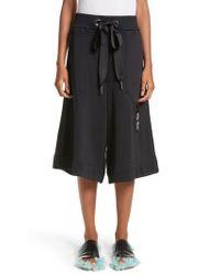 Marques'Almeida - Tracksuit Wide Leg Fleece Shorts - Lyst