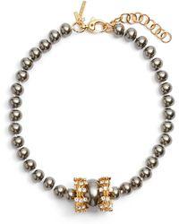 Lele Sadoughi - Copacabana Collar Necklace - Lyst