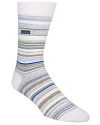 CALVIN KLEIN 205W39NYC - Multistripe Emblem Socks - Lyst