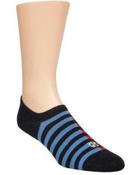 CALVIN KLEIN 205W39NYC - Stripe No-show Socks - Lyst