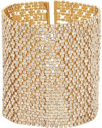 Lisa Freede - Crystal Lace Cuff - Lyst