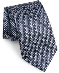 Ermenegildo Zegna - Medallion Silk Tie - Lyst
