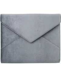 Sonix - Powder Velvet Laptop Clutch - Lyst