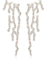 Monica Vinader - Riva Waterfall Diamond Cocktail Earrings - Lyst