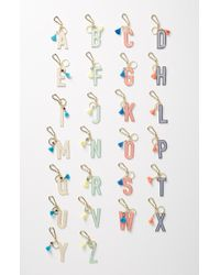 Anthropologie - Juniper Monogram Key Chain - Lyst