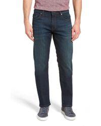 Mavi Jeans - Zach Straight Leg Jeans - Lyst