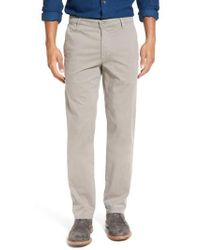 AG Jeans - 'the Lux' Tailored Straight Leg Chinos - Lyst