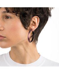 Alexis Bittar - Vanitas Large Lucite Hoop Earrings - Lyst