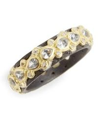 Armenta | Old World Lacy Eternity Diamond & Sapphire Ring | Lyst
