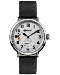 INGERSOLL WATCHES - Ingersoll Trenton Disney Leather Strap Watch - Lyst