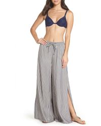 Onia - Chloe Wide Leg Cover-up Pants - Lyst