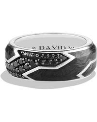 David Yurman - Forged Carbon Ring - Lyst