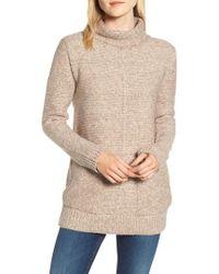 Barbour - Malvern Roll Collar Sweater - Lyst