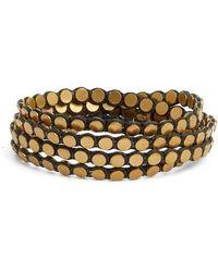 Serefina | Disk Wrap Bracelet | Lyst